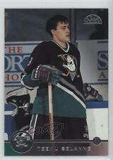 1996-97 Leaf #52 Teemu Selanne Anaheim Ducks (Mighty of Anaheim) Hockey Card