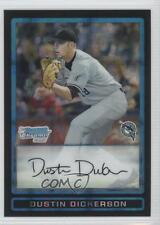 2009 Bowman Draft Picks & Prospects Chrome X-Fractor #BDPP67 Dustin Dickerson