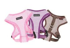 Adorable Puppia Dog Harness BABY CHECKERED PINK - S or M