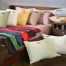 Wholesale 400TC Ultra Soft 2PC Pillow Shams Striped 100%Cotton All Sizes/Colors