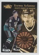 1996-97 Pinnacle Mint Bronze #13 Teemu Selanne Anaheim Ducks (Mighty of Anaheim)