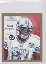 2009 Topps National Chicle Mini #C170 Calvin Johnson Detroit Lions Football Card