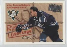 1997 Donruss Priority #187 Teemu Selanne Anaheim Ducks (Mighty of Anaheim) Card