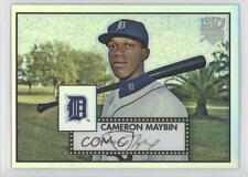 2007 Topps '52 Chrome Refractor TCRC55 Cameron Maybin Detroit Tigers Rookie Card