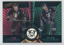 1997-98 Pacific Dynagon Emerald #135 Paul Kariya Teemu Selanne Hockey Card
