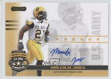2010 Razor US Army All-American Bowl Autographs #BA-MJ2 Malcolm Jones U.S. Auto