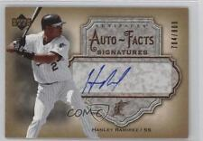 2006 Upper Deck Artifacts Autofacts Signatures #AF-HR Hanley Ramirez Auto Card