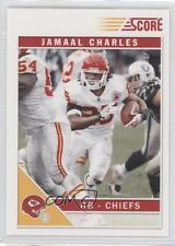 2011 Score Glossy #145 Jamaal Charles Kansas City Chiefs Football Card