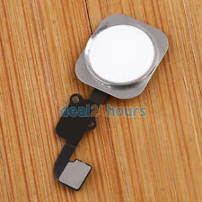 Gold Touch ID Sensor Home Button Key Flex Cable Replacement for iPhone 6 & Plus