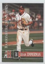 2005 Grandstand Harrisburg Senators #16 Ryan Zimmerman Rookie Baseball Card