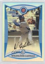 2008 Bowman Draft Picks & Prospects Chrome Refractor #BDPP82 Welington Castillo