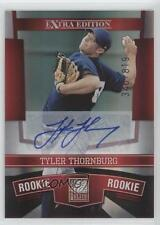 2010 Donruss Elite Extra Edition 156 Tyler Thornburg Milwaukee Brewers Auto Card