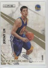 2010-11 Panini Rookies & Stars Gold #129 Jeremy Lin Golden State Warriors Card