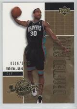 2002 Upper Deck Inspirations 175 Dahntay Jones Memphis Grizzlies Basketball Card