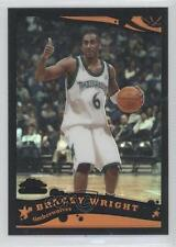 2005 Topps Chrome Black Refractor #201 Bracey Wright Minnesota Timberwolves Card