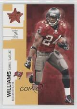 2007 Leaf Rookies & Stars Gold 37 Carnell Cadillac Williams Tampa Bay Buccaneers
