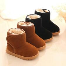 Baby Toddler Shoes Boys Girls Boots Winter Warmer Child Kids Martin Snow Boots
