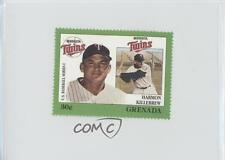 1988 Grenada Major League Baseball in Stamps US Series 1 #HAKI Harmon Killebrew