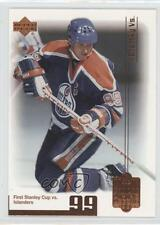 1999-00 Upper Deck Living Legend #46 Wayne Gretzky Edmonton Oilers Hockey Card