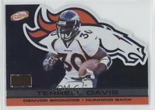 2001 Pacific Prism Atomic Premiere Date Non-Numbered #43 Terrell Davis Card