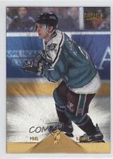 1996 Pinnacle Rink Collection #184 Paul Kariya Anaheim Ducks (Mighty of Anaheim)