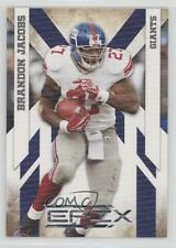 2010 Panini Epix Silver #63 Brandon Jacobs New York Giants Football Card