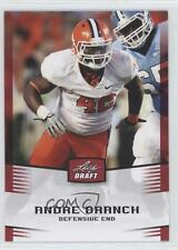 2012 Leaf Draft Red #3 Andre Branch Clemson Tigers Rookie Football Card