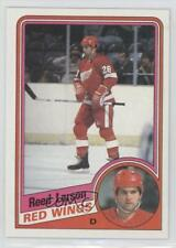 1984-85 Topps #44 Reed Larson Detroit Red Wings Hockey Card