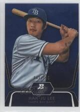 2012 Bowman Platinum Prospects Blue Refractor #BPP20 Hak-Ju Lee Tampa Bay Rays