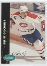 1991-92 Parkhurst French #315 Brent Gilchrist Montreal Canadiens Hockey Card