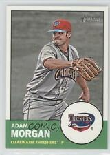 2012 Topps Heritage Minor League Edition #128 Adam Morgan Clearwater Threshers