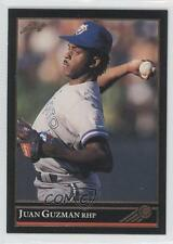 1992 Leaf Gold #35 Juan Guzman Toronto Blue Jays Rookie Baseball Card