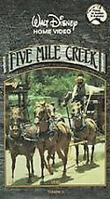 Five Mile Creek - Louise C. Clark - Walt Disney Volume 1 and 2 Only (VHS, 1992)