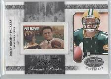 2008 Leaf Certified Materials #SS-10 Brian Brohm Green Bay Packers Football Card
