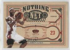 2009-10 Crown Royale Nothing But Net #9 Lebron James Cleveland Cavaliers Card