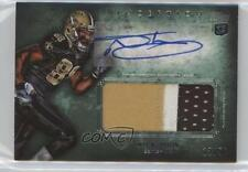 2012 Topps Inception Rookie Autographed Jumbo Patch Green #AJP-NT Nick Toon Auto