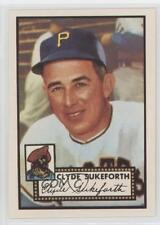 1983 Topps 1952 Reprint Series #364 Clyde Sukeforth Pittsburgh Pirates Card