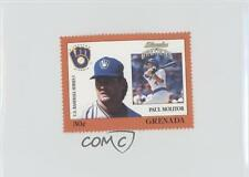 1988 Grenada Major League Baseball in Stamps US Series 1 #PAMO Paul Molitor Card