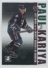 2002-03 Pacific Vanguard #2 Paul Kariya Anaheim Ducks (Mighty of Anaheim) Card