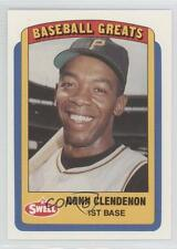 1990 Swell Baseball Greats #82 Donn Clendenon Pittsburgh Pirates Card
