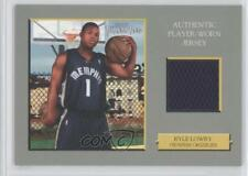 2006 Topps Turkey Red Relics TRR-KL Kyle Lowry Memphis Grizzlies Basketball Card