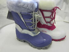 Girls Startrite Lace Up Snow Boots In Lilac Or White 'Fantasy' F Width Fitting