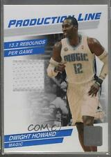 2010-11 Donruss Production Line Materials Memorabilia #21 Dwight Howard Card
