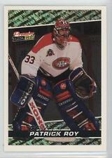 1993 O-Pee-Chee Premier Black Gold #8 Patrick Roy Montreal Canadiens Hockey Card