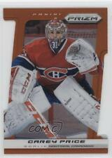 2013 Panini Prizm Orange Die-Cut #41 Carey Price Montreal Canadiens Hockey Card
