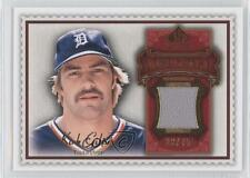 2009 SP Legendary Cuts Memorabilia Red #LM-GK Kirk Gibson Detroit Tigers Card