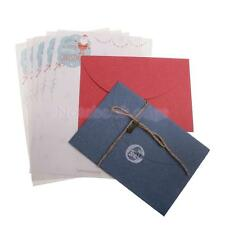Christmas Style Letter Paper Envelope Sets Greeting Cards Message Paper Craft