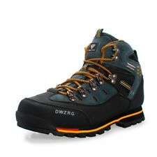 GOMNEAR waterproof trail hiking trekking shoes wearable non slip outdoor boots