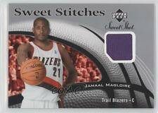2006-07 Upper Deck Sweet Shot Stitches Memorabilia #SS-JM Jamaal Magloire Card