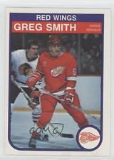 1982-83 O-Pee-Chee #96 Greg Smith Detroit Red Wings Hockey Card